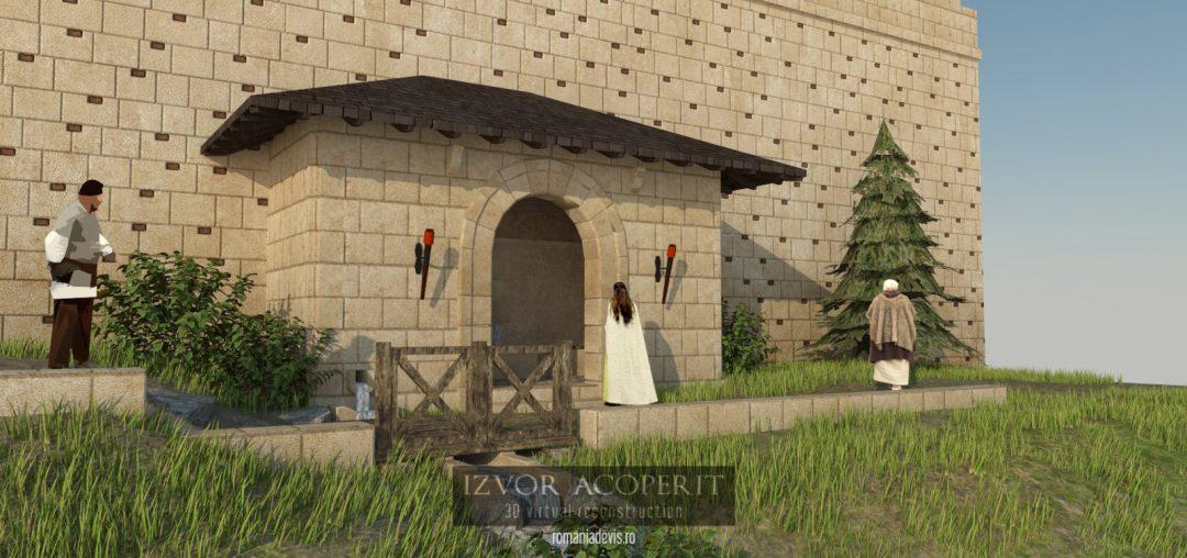 Izvor acoperit la Sarmizegetusa Regia
